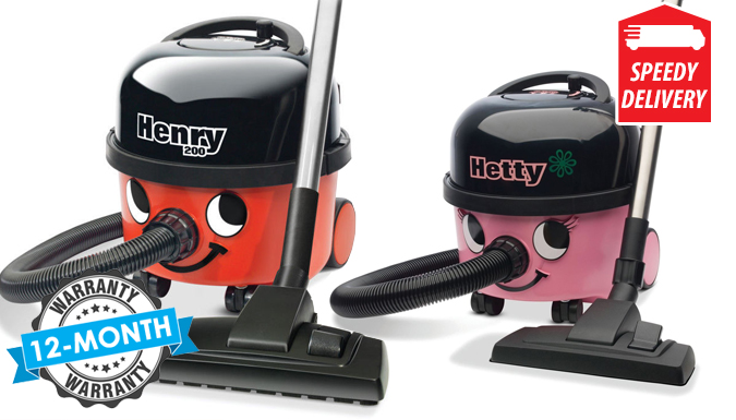 Experts Henry or Hetty Vacuum Cleaner