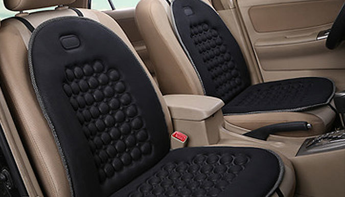 Orthopaedic Car Seat Cushions - 1 or 2 from Discount Experts