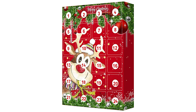24-Day Christmas Keychain Advent Calendar from Discount Experts
