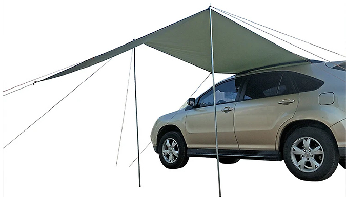 Car Awning Sun Shelter Canopy - 3 Sizes from Discount Experts