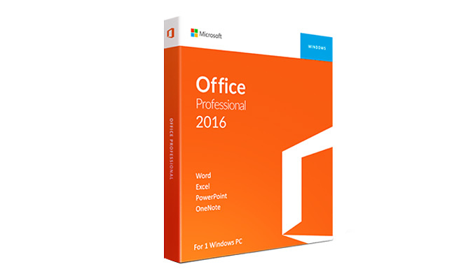 Microsoft Office 2016 Home & Student or Professional - For Windows Only from Discount Experts