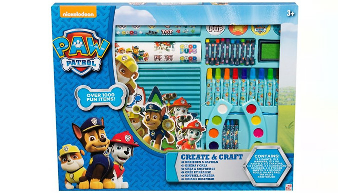 1000-Piece Paw Patrol-Themed Crafts Set