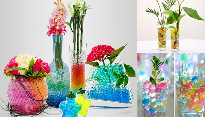 1000-Piece Magic Growing Beads - 7 Colours