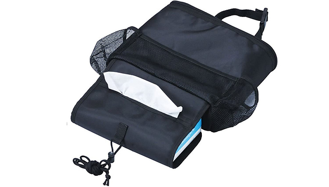 Car Seat Multi-Pocket Cooling Storage Bag from Discount Experts