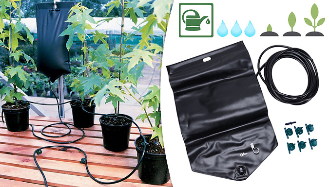 10.5L 'Big Drippa' Automatic Plant Watering System