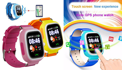 23cb82d6ea7 Discount Experts Q90 Child Safety GPS Tracker Smartwatch - 3 Colours